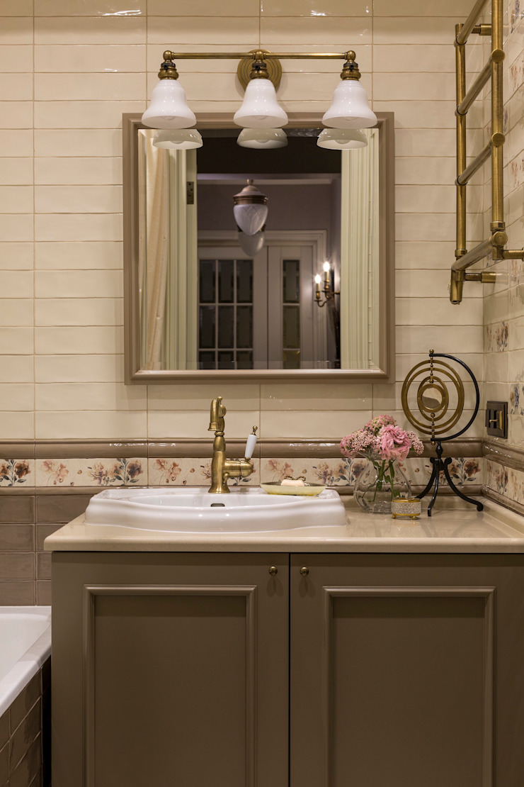 Classic style bathroom by Dots&points interior design studio Classic