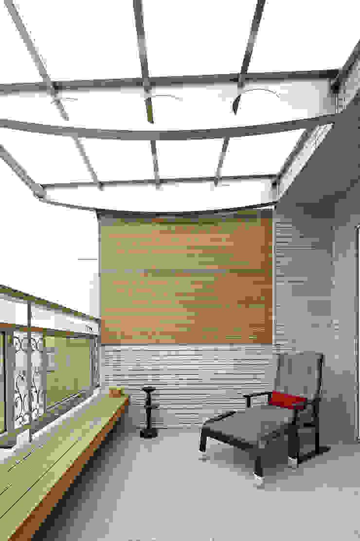 4F露台 根據 映荷空間設計 現代風