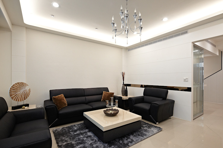 Salas de estar  por 映荷空間設計, Moderno