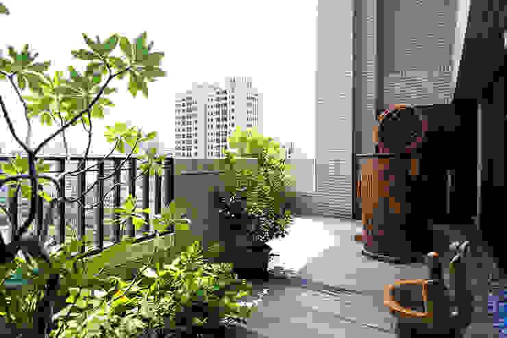 陽台 根據 世家新室內裝修公司 日式風、東方風