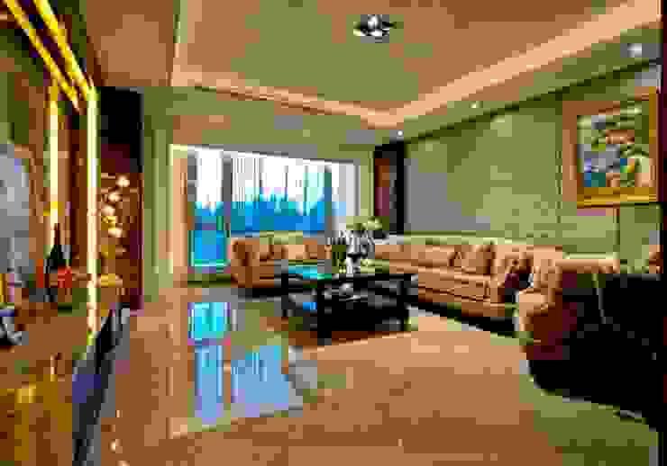 客廳 Modern Living Room by 世家新室內裝修公司 Modern