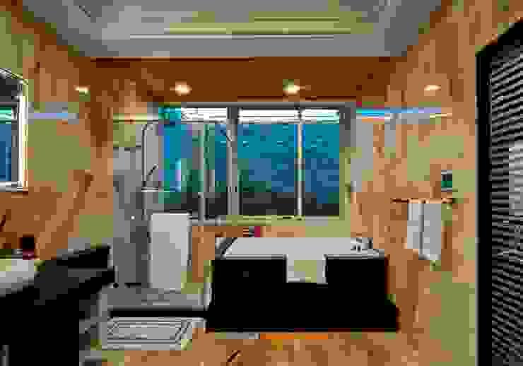 浴室 現代浴室設計點子、靈感&圖片 根據 世家新室內裝修公司 現代風