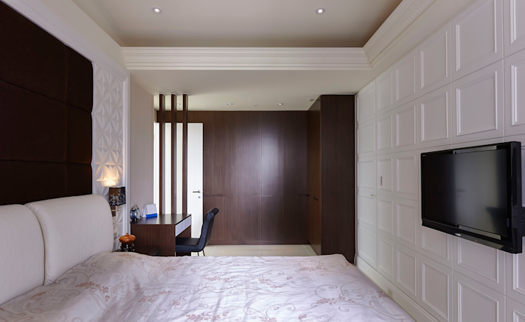 /4 Classic style bedroom by 世家新室內裝修公司 Classic