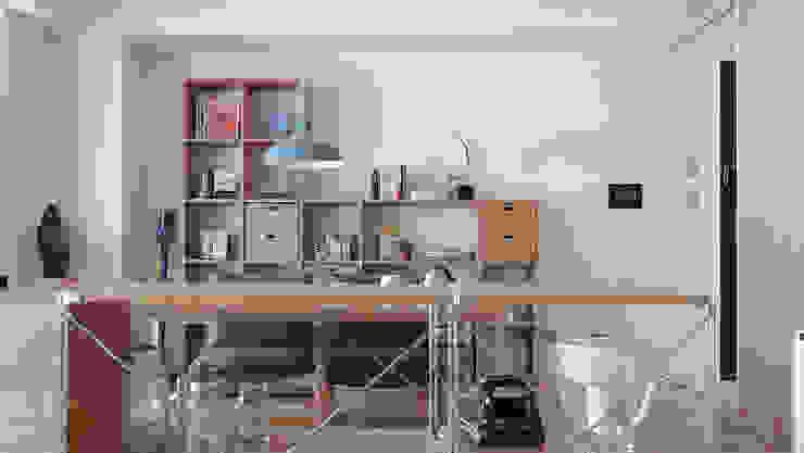 Ruang Keluarga oleh RND Inc. , Minimalis