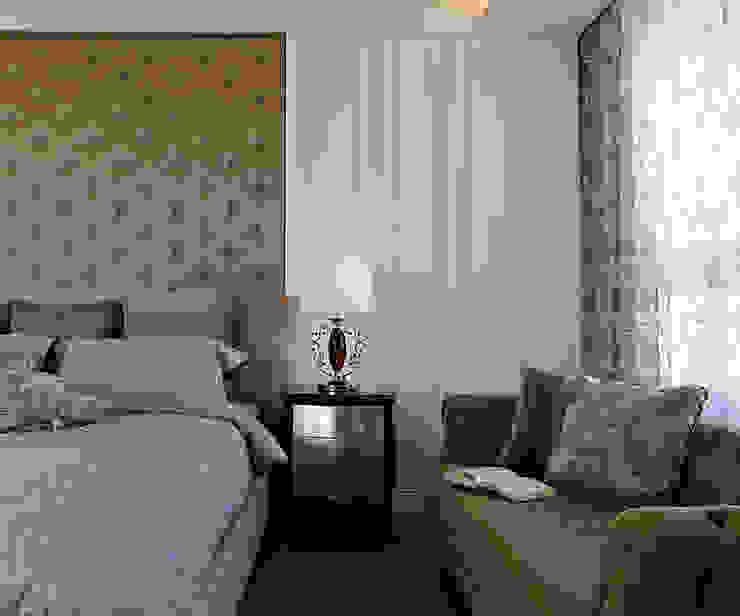 Dormitorios de estilo  de 世家新室內裝修公司,