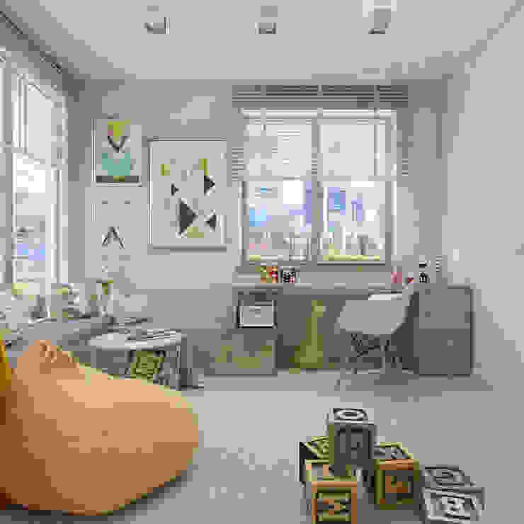 Modern Çocuk Odası UTOO-Pracownia Architektury Wnętrz i Krajobrazu Modern