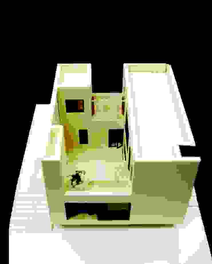 운중천 이웃집 모던스타일 주택 by 아키누스(건축동인) 건축사사무소 모던