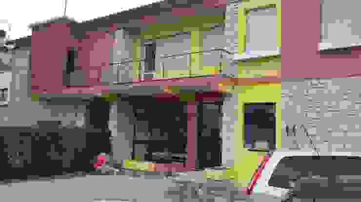 Tutto Tetto Di Shein Vitaliy Moderne Häuser Gelb