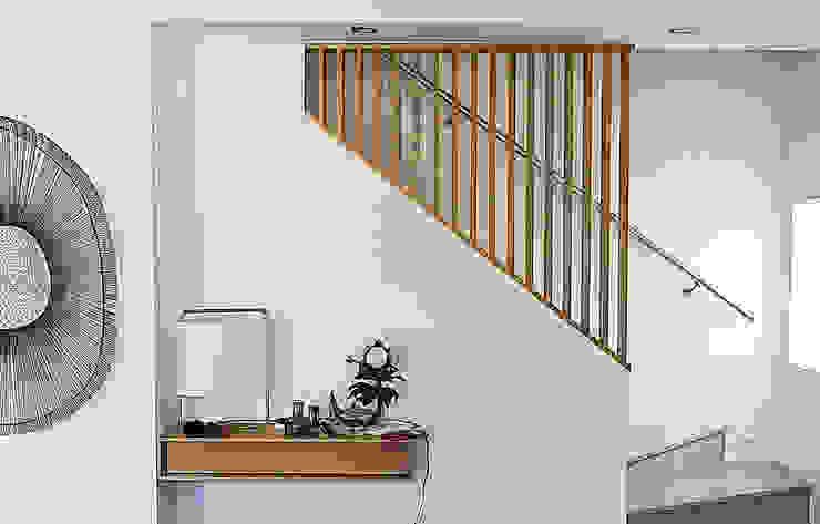 Belsolar Lda Pasillos, vestíbulos y escaleras de estilo minimalista