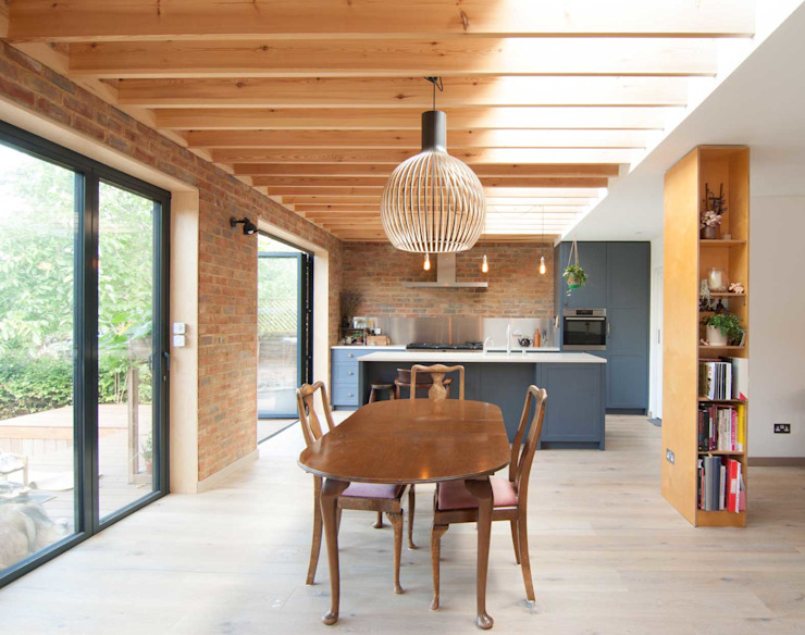 Epsom Modern dining room by Bradley Van Der Straeten Architects Modern