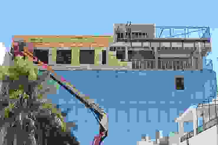 #EDIFICIOSUSTENTABLE | Sede Cooperación Seguros | Venado Tuerto. Edificios de oficinas de estilo moderno de Grupo Madero Moderno Hierro/Acero