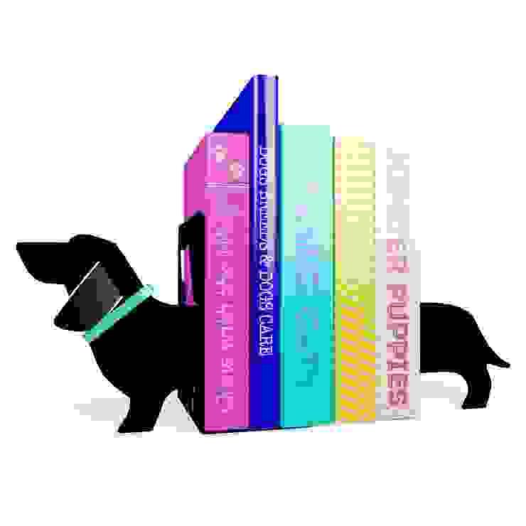 SAUSAGE DOG BOOKENDS de Urban Life Moderno