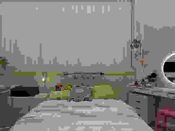 Scandinavian style bedroom by UNUM - ARQUITETURA E ENGENHARIA Scandinavian