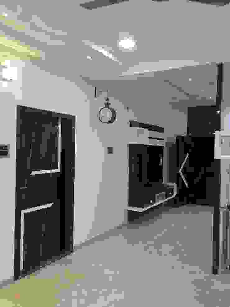 Living Room Nabh Design & Associates Minimalist living room