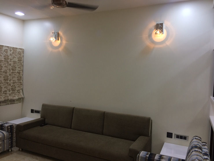 Nabh Design & Associates Salon minimaliste
