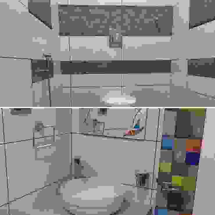 Bathroom Design Nabh Design & Associates Minimalist bathroom