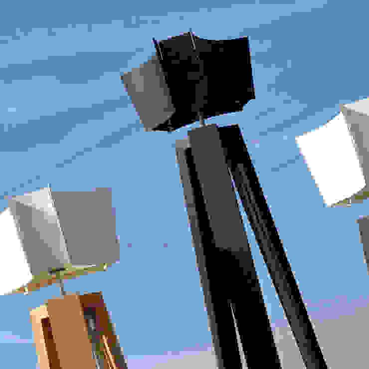 Treepod Light nr2: modern  door Marco Tabak, Modern Hout Hout