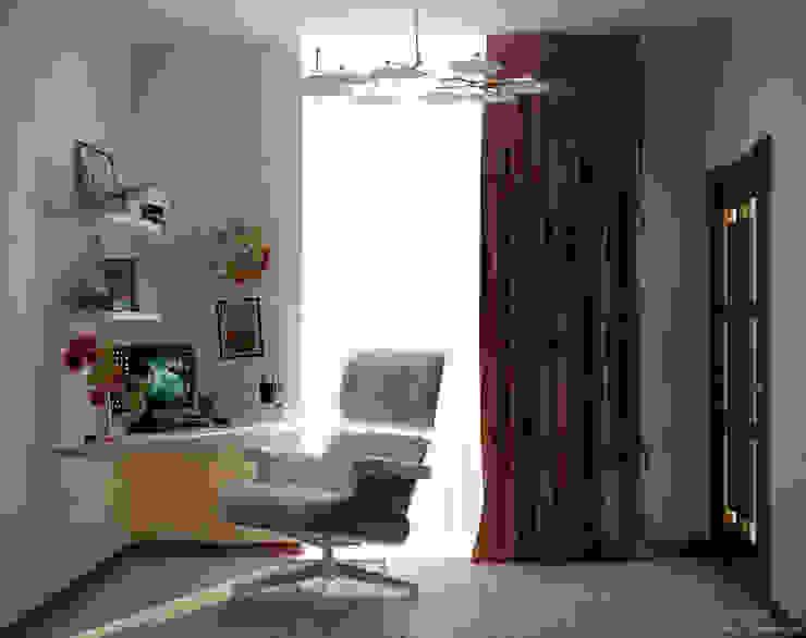 Modern Dressing Room by Студия интерьерного дизайна happy.design Modern