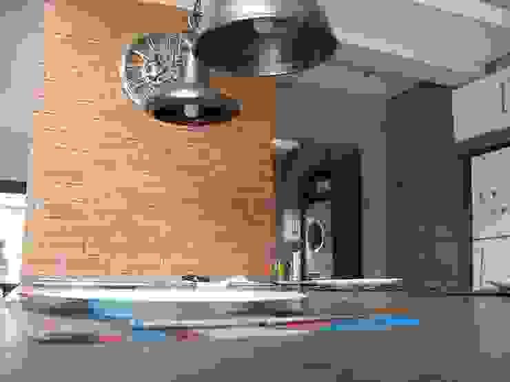 House [MWARF] Modern kitchen by jonroy design studio Modern