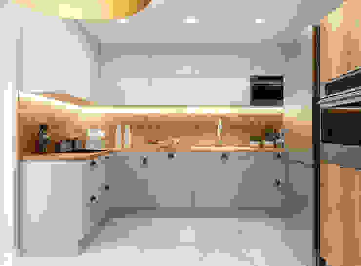 Moderne Küchen von APP Proste Wnętrze Maria Podobińska-Tuleja Modern