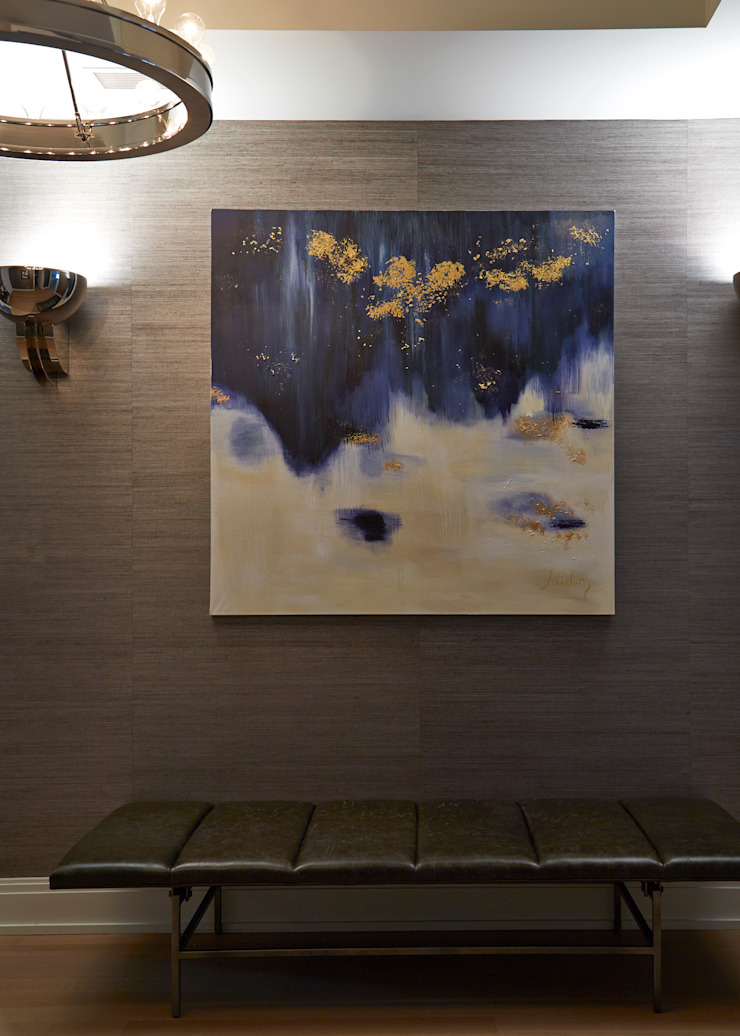 New York City Family Home من JKG Interiors تبسيطي خشب Wood effect