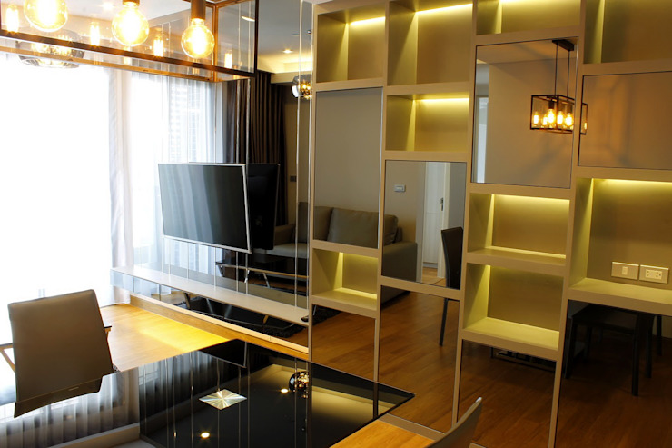 modern  by Glam interior- architect co.,ltd, Modern Glass