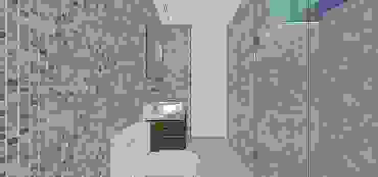 Baño habitación principal Baños de estilo moderno de MARATEA estudio Moderno