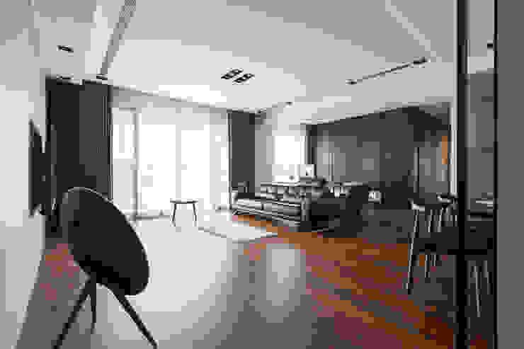 客廳的氛圍: 現代  by 一水一木設計工作室, 現代風