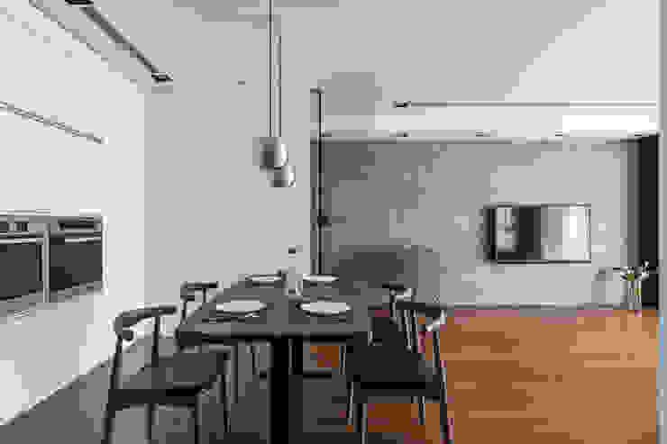 用餐的規劃設計: 現代  by 一水一木設計工作室, 現代風