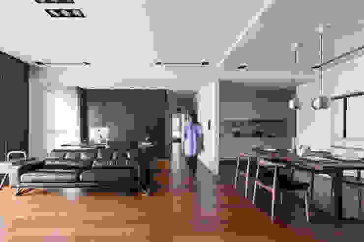 走廊: 現代  by 一水一木設計工作室, 現代風