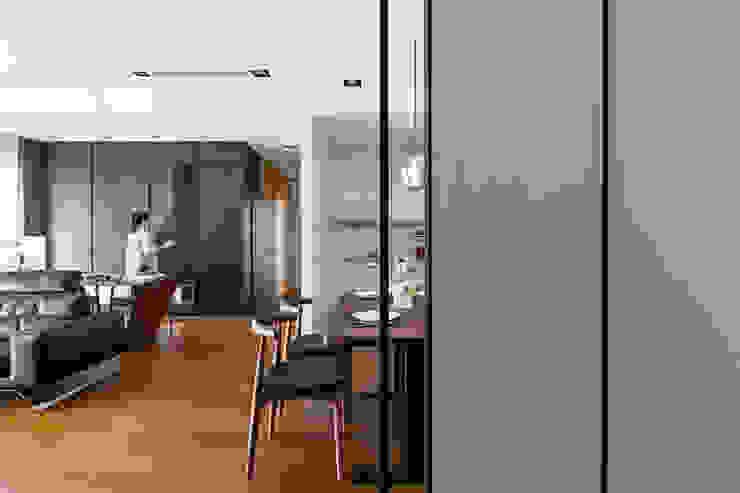 客餐廳: 現代  by 一水一木設計工作室, 現代風