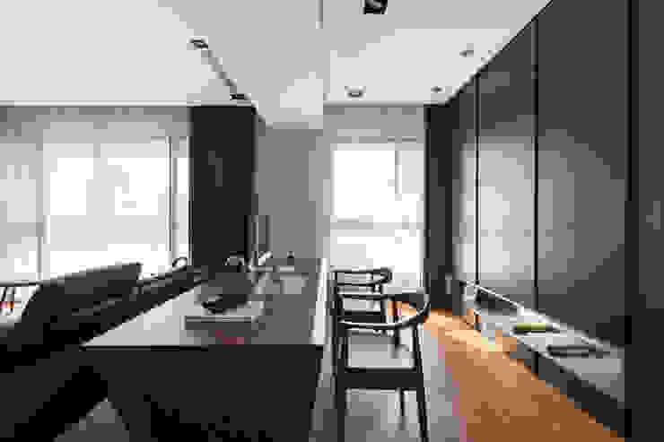 書房的規劃設計: 現代  by 一水一木設計工作室, 現代風
