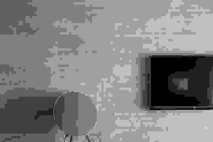 電視牆面: 現代  by 一水一木設計工作室, 現代風