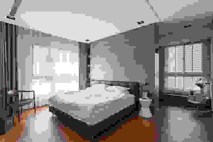 主臥室: 現代  by 一水一木設計工作室, 現代風
