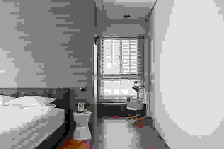 更衣室的一角: 現代  by 一水一木設計工作室, 現代風