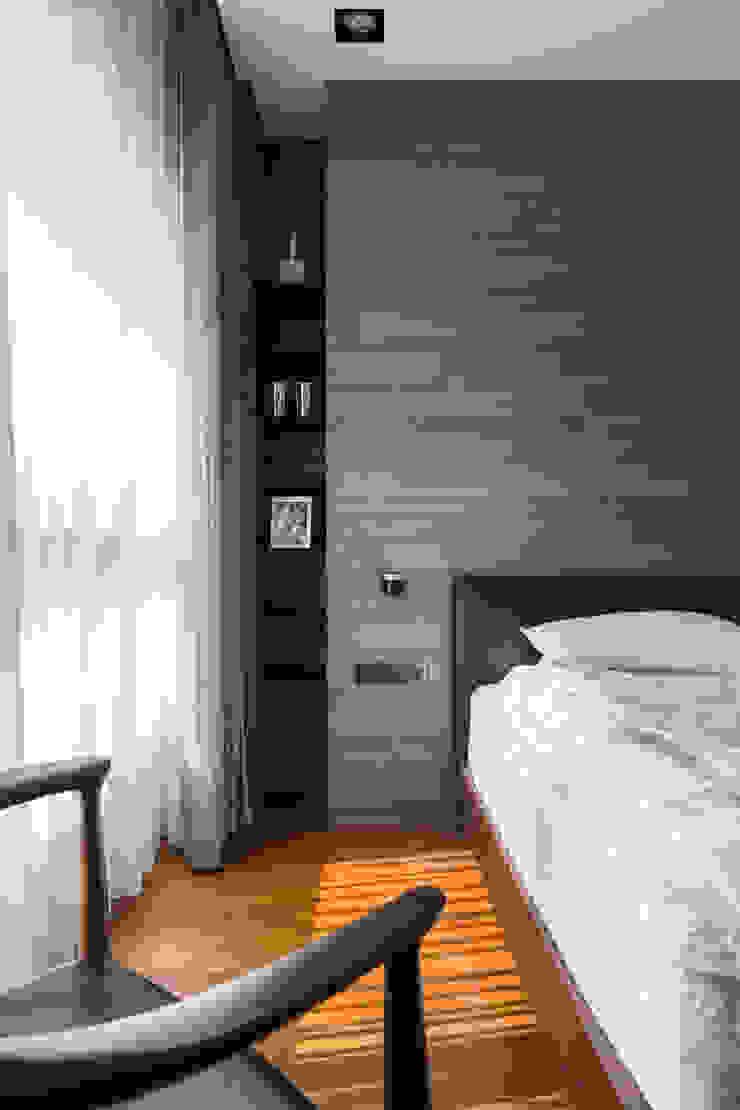 房間的一角: 現代  by 一水一木設計工作室, 現代風