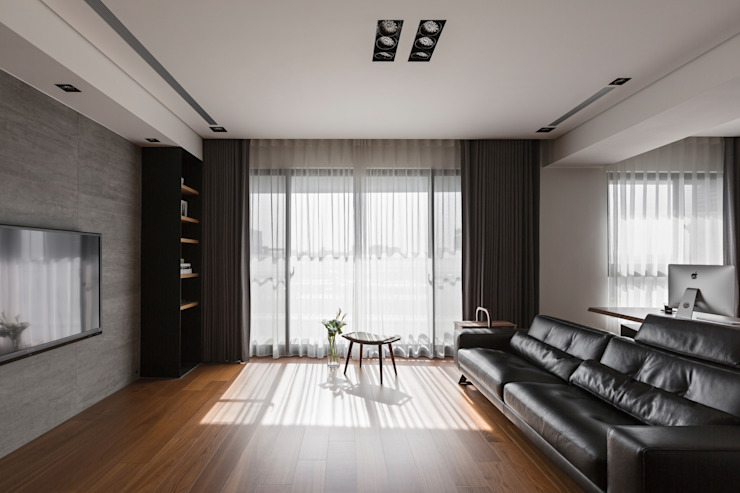 客廳: 現代  by 一水一木設計工作室, 現代風