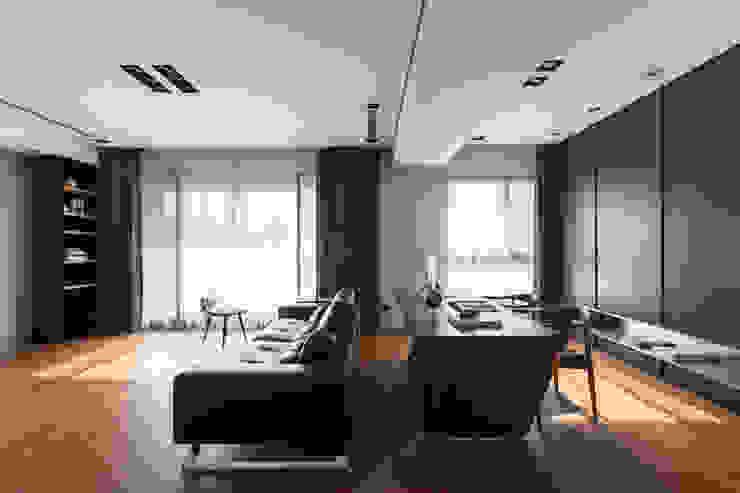 客餐廳的地方: 現代  by 一水一木設計工作室, 現代風