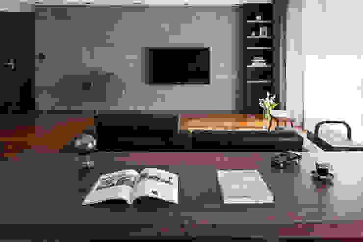 書房的氛圍: 現代  by 一水一木設計工作室, 現代風