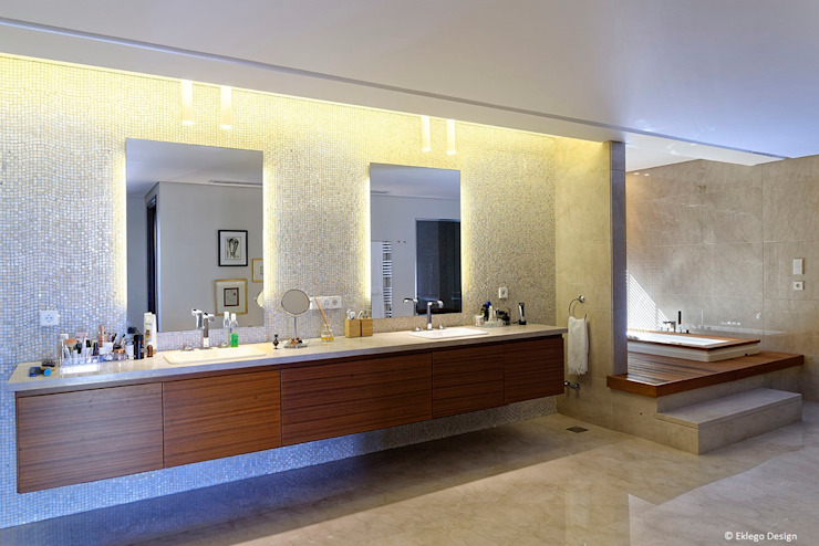 Master bathroom من Jam Space Ltd إنتقائي