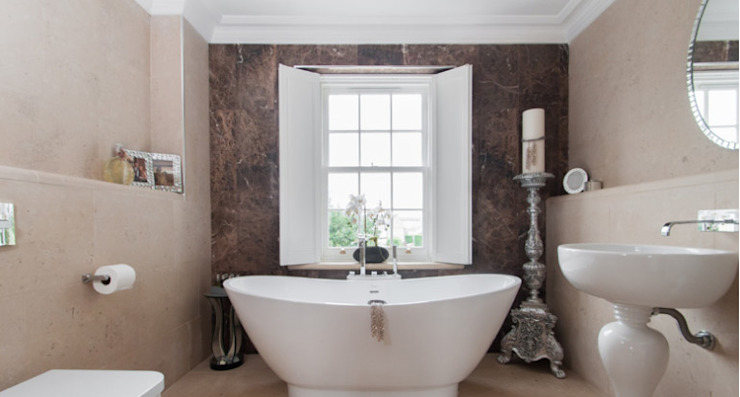 Bathroom Lincolnshire Limestone Flooring BathroomBathtubs & showers