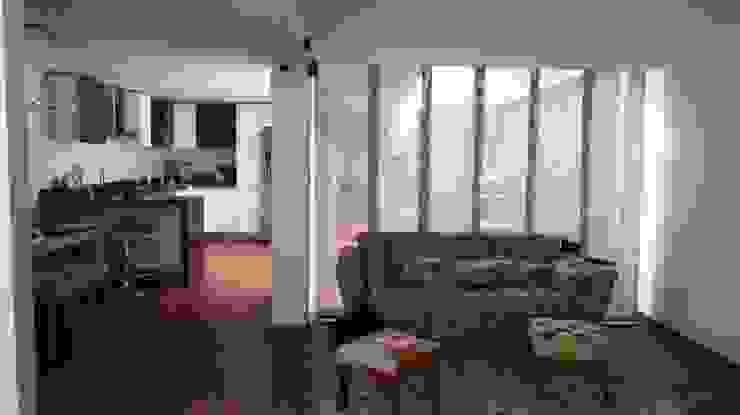 Remodelación casa Bogota Salas modernas de Erick Becerra Arquitecto Moderno