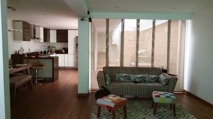 Erick Becerra Arquitecto Living room