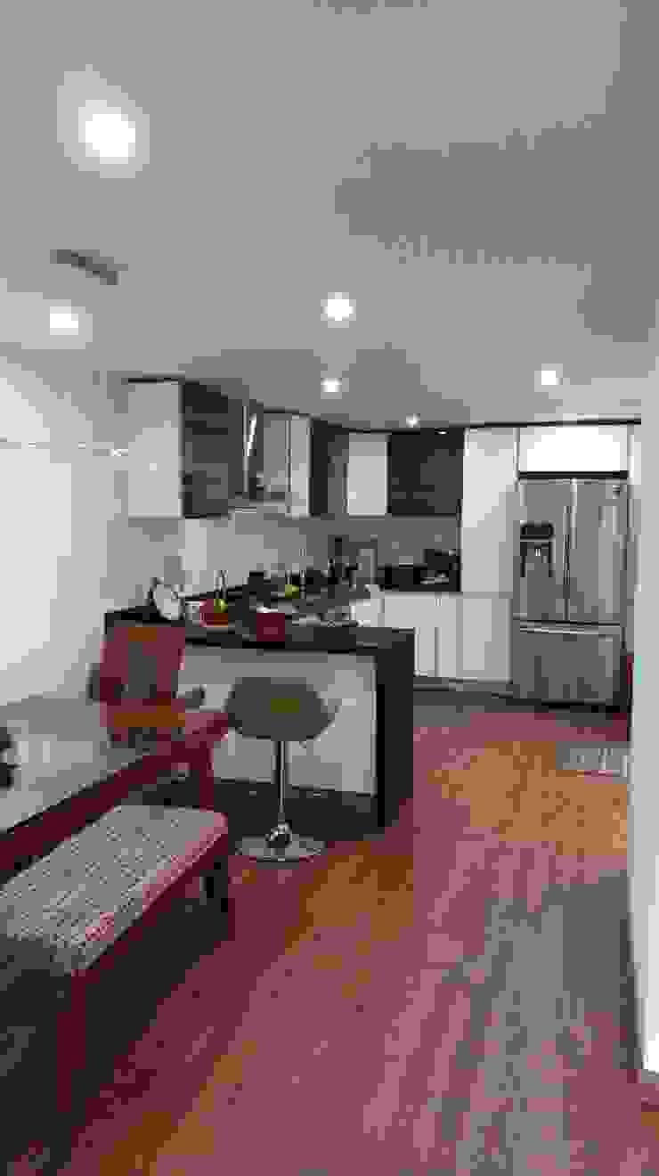 Remodelación casa Bogota Cocinas modernas de Erick Becerra Arquitecto Moderno