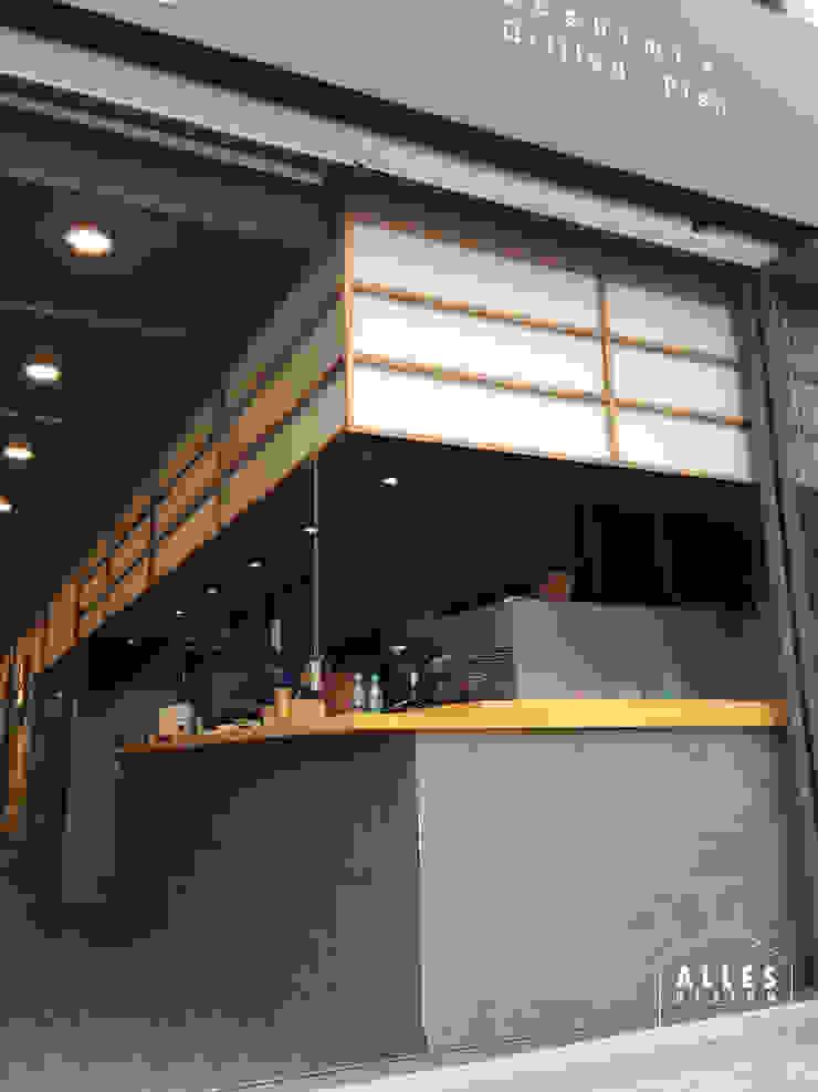 회롱회롱 _ Sushi bar by 디자인알레스 모던