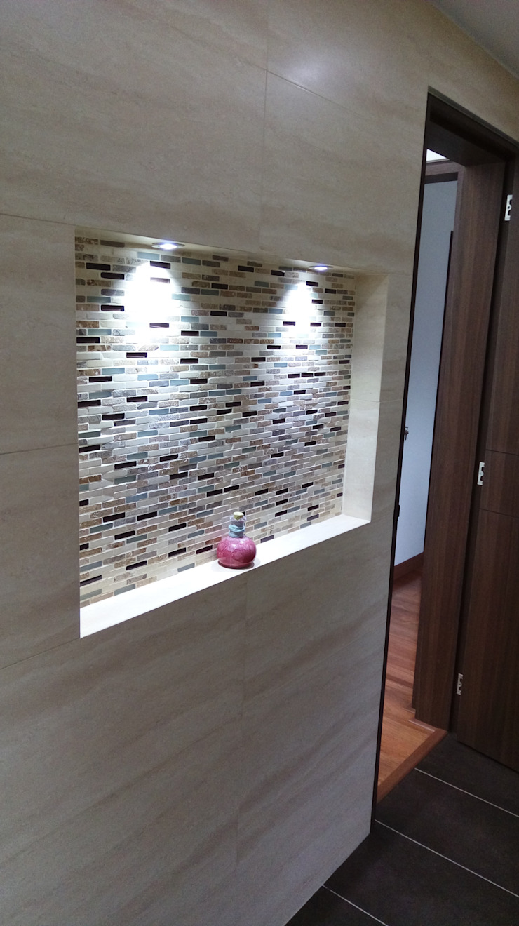Banheiros modernos por Erick Becerra Arquitecto Moderno