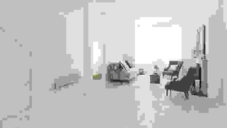 Chão WICANDERS Paredes e pisos modernos por Aprifer Moderno