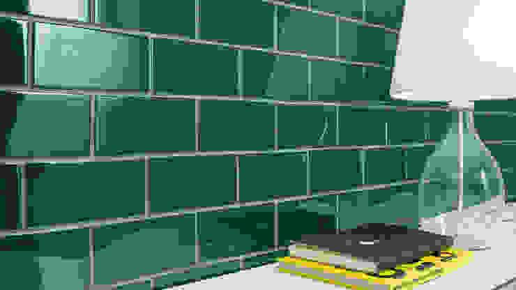 Tường & sàn phong cách chiết trung bởi Aprifer Chiết trung