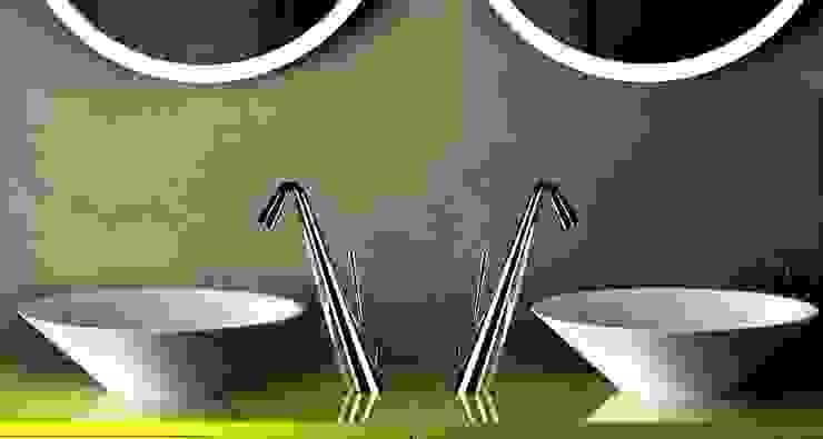 Torneiras GESSI Casas de banho minimalistas por Aprifer Minimalista