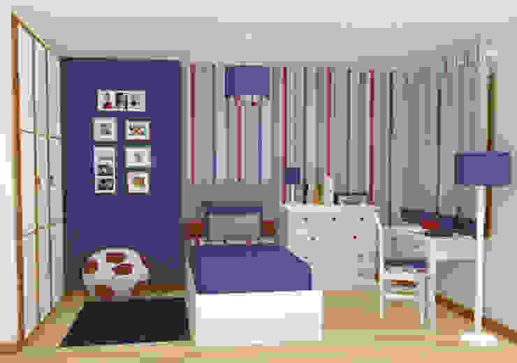 Phòng trẻ em phong cách chiết trung bởi Oficina Rústica (OFR Unipessoal Lda) Chiết trung